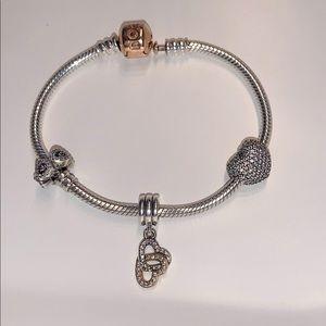 Pandora bracelet like new